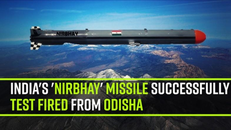 Indias Nirbhay missile successfully test fired from Odisha
