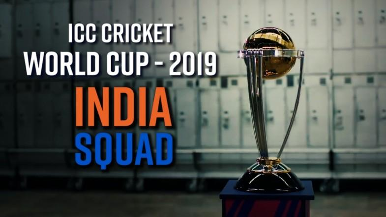 ICC World Cup 2019 - Team India Squad