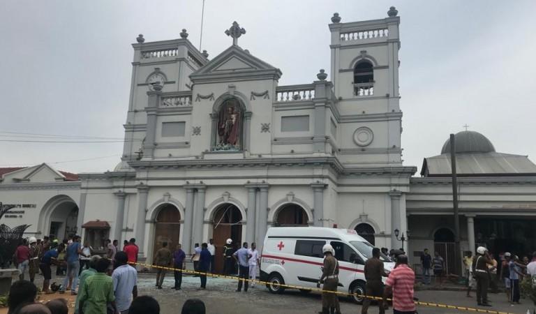Explosion at St. Anthony's Church at Kochchikade