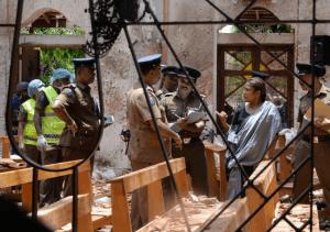 Sri Lanka blast