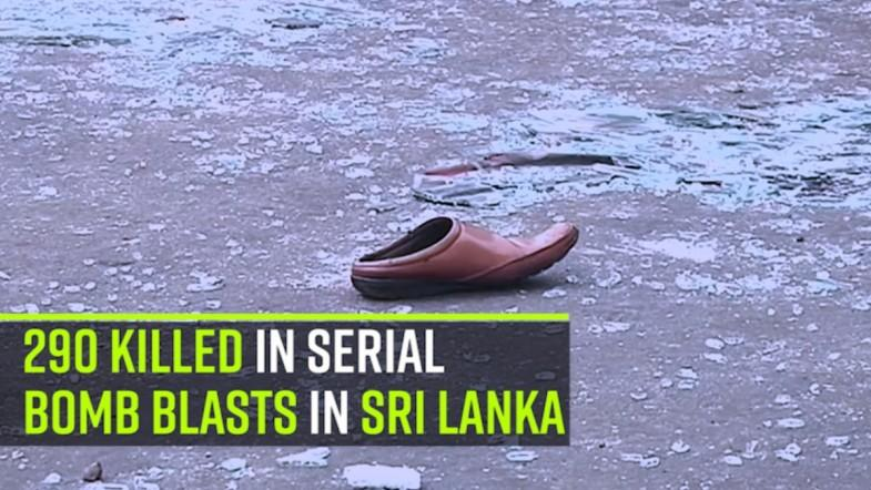 290 killed in serial bomb blasts in Sri Lanka