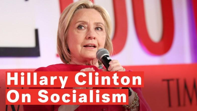 Hillary Clinton Addresses Growth Of Socialism