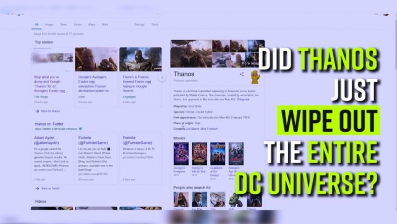 Did Thanos just wipe out the entire DC Universe?
