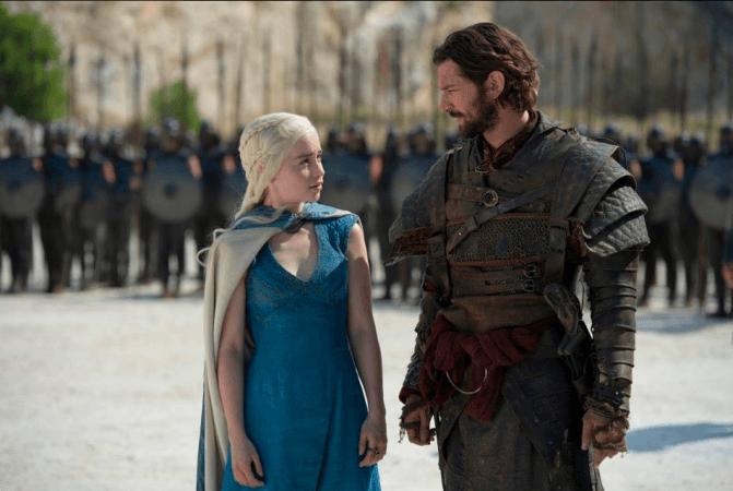 Daario Naharis in Game of Thrones season 8