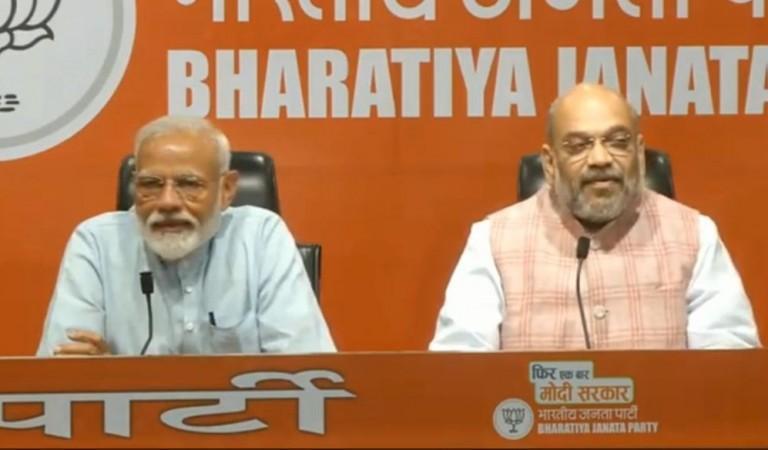 Modi press conference