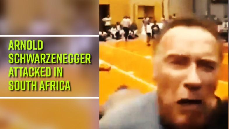 Arnold Schwarzenegger attacked in South Africa — Check out