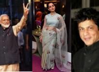 Narendra Modi swearing-in ceremony: Kangana Ranaut, Shah Rukh Khan among guests