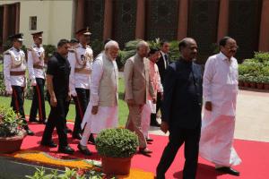 Ram Nath Kovind parliament