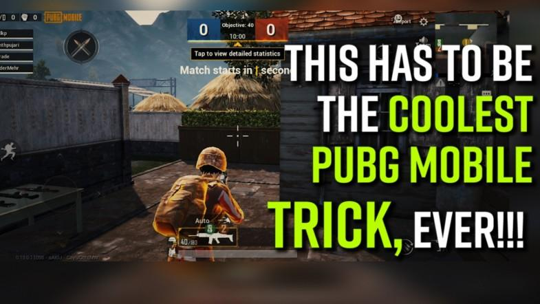 This has to be the coolest PUBG Mobile trick, EVER!!!