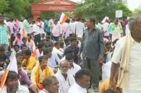 Members of Members of Valmiki community stages protest near Vidhana Soudha near Vidhana Soudha