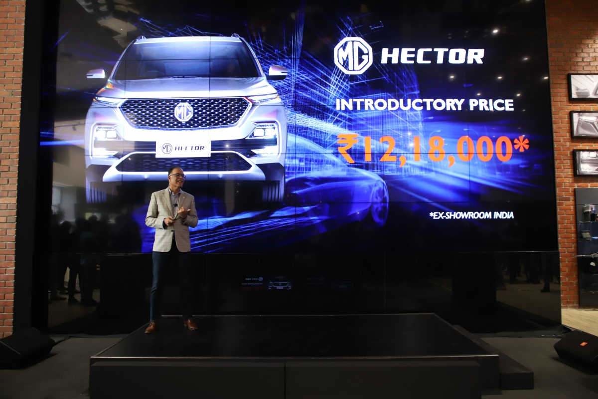 Mg Hector Launch Price In India Makes Tempting Offer Internet Car