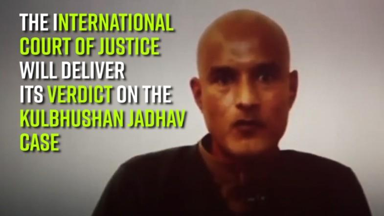 The ICJ will deliver its verdict on the Kulbhushan Jadhav case today