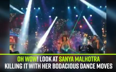 Oh Wow! Look at Sanya Malhotra killing it with her bodacious dance moves
