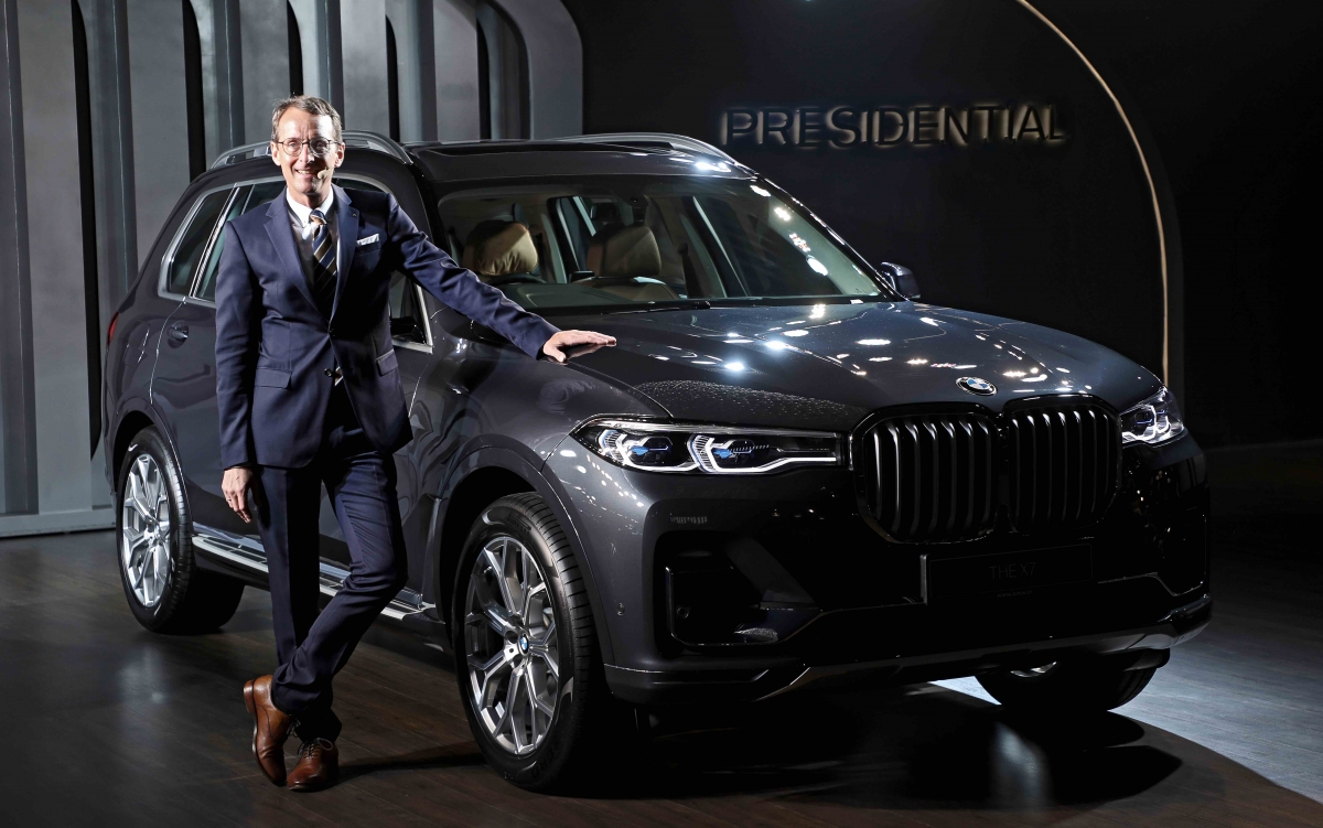2019 Bmw X7 Price In India Starts At Rs 98 90 Lakh