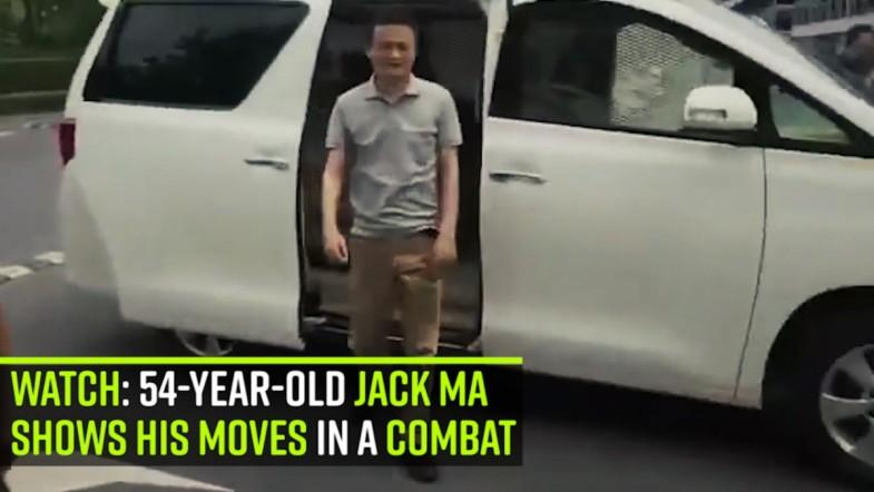 Watch: 54-year-old Jack Ma shows his moves in a combat