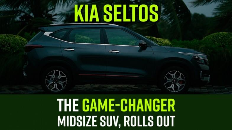 KIA Seltos, the game-changer midsize SUV, rolls out