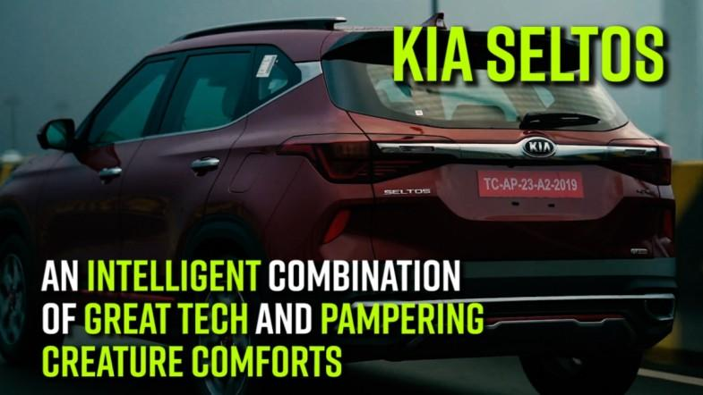 KIA Seltos | An intelligent combination of great tech and pampering creature comforts