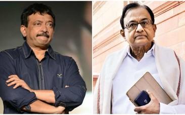 Ram Gopal Varma and P Chidambaram