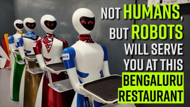 Not humans, but robots will serve you at this Bengaluru restaurant