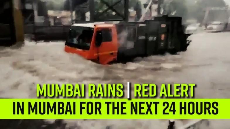 Mumbai Rains | Red alert in Mumbai for the next 24 hours