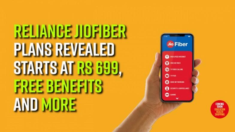Reliance JioFiber plans revealed: Starts at Rs 699, free benefits and more