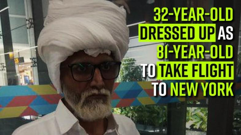 32-year-old dressed up as 81-year-old to take flight to New York