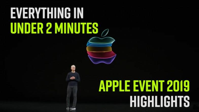 Apple Event 2019 highlights: Everything in under 2 minutes