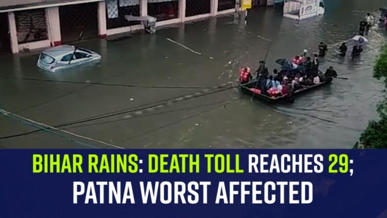 Bihar rains | Death toll reaches 29; Patna worst affected