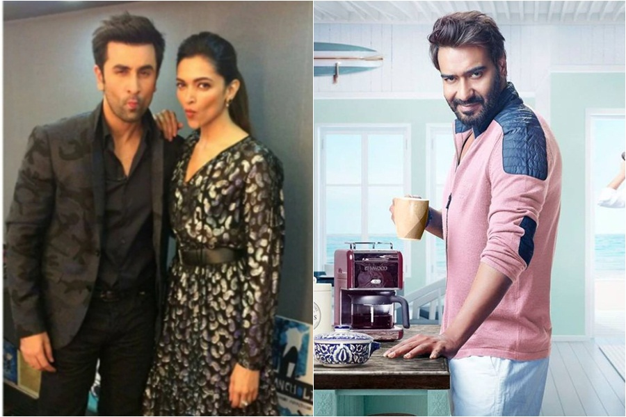 Deepika Padukone ditches Ranbir Kapoor for Ajay Devgn