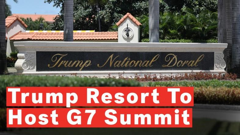 Donald Trump To Host G7 Summit At His Miami Property, Says White House