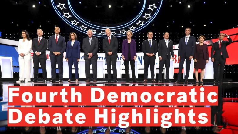Fourth Democratic Debate Highlights: Warren, Biden, Buttigieg Among Most-Talked About