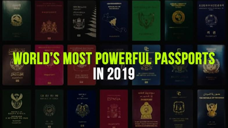 World's most powerful passports in 2019