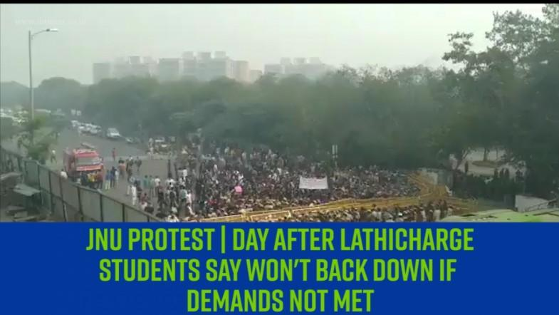 JNU protest | Day after lathicharge, students say wont back down if demands not met