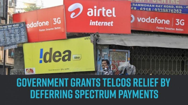 Government grants telcos relief by deferring spectrum payments