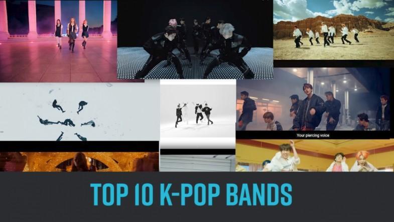 TOP 10 K-POP BANDS