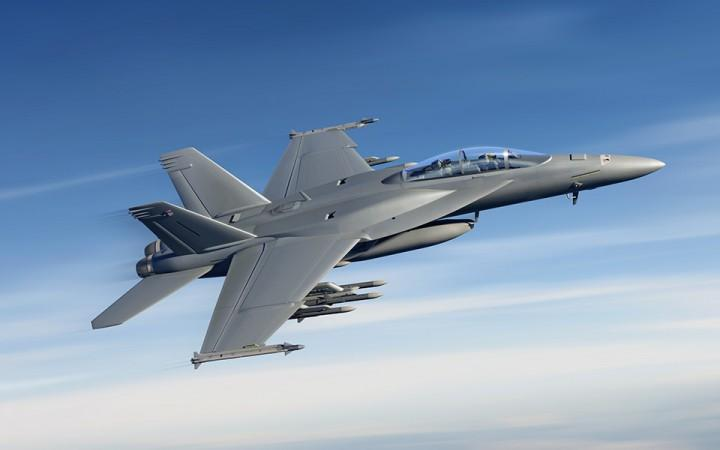 Boeing F/A-18 fighter
