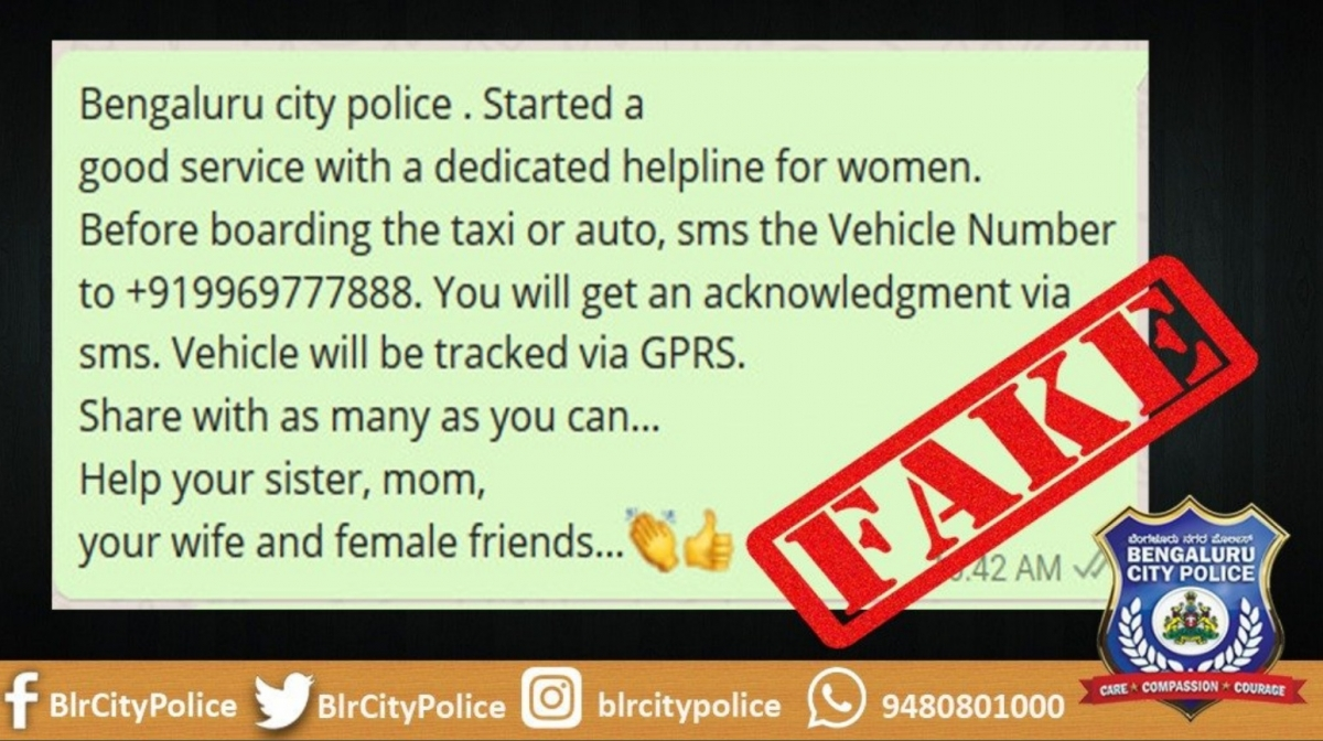 Fact Check: Did Bengaluru police ask people for vehicle numbers before boarding cabs?