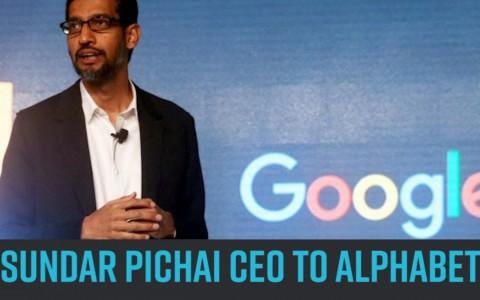 Google's India-born CEO Sundar Pichai replaces Larry Page as Alphabet chief