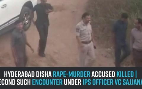Hyderabad Disha rape-murder accused killed | Second such encounter under IPS officer VC Sajjanar