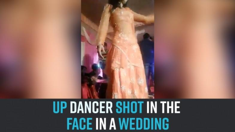 UP dancer shot in the face in a wedding.