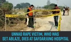 Unnao rape victim, who was set ablaze, dies at Safdarjung Hospital