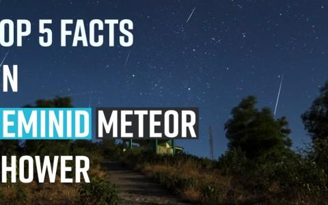 Top 5 Facts about Geminids meteors