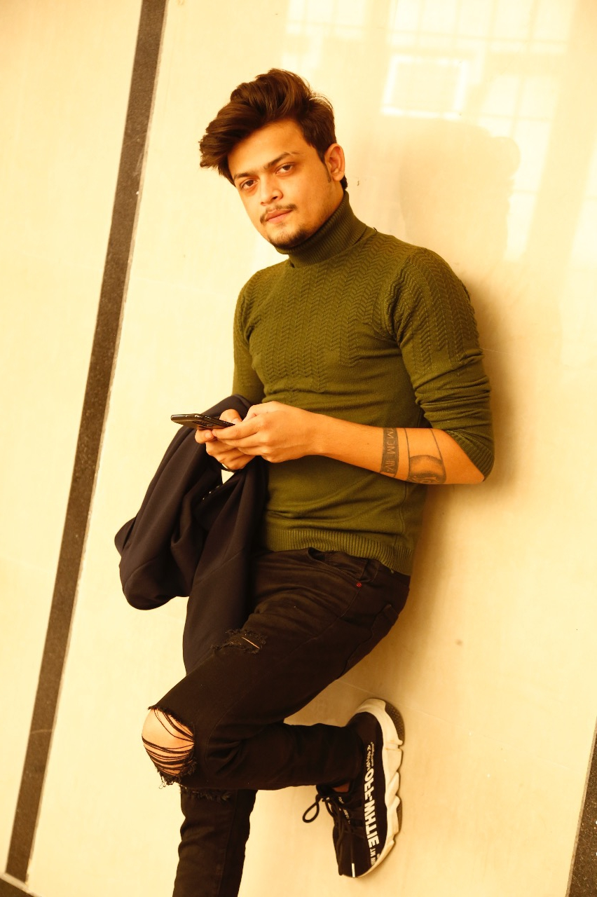 We found likewise spark in our Director Dinesh Sudarshan Soi – Producer Ayush Saroj Jaiswal