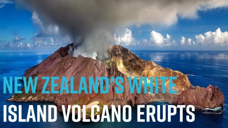 New Zealands White Island volcano erupts
