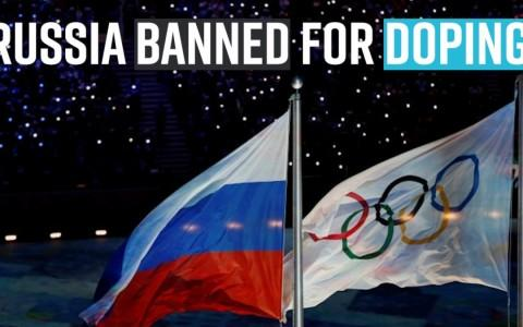 Russia banned from Olympics and other major events for four years