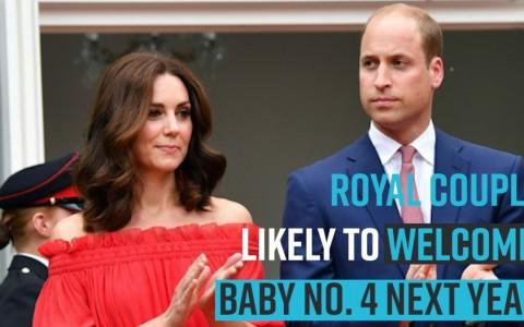 Kate Middleton and Prince William likely to welcome baby no. 4 next year, hints royal expert