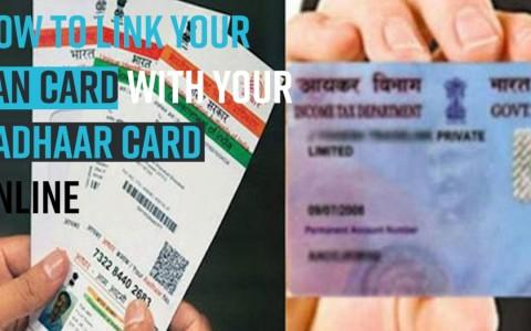 How to link your PAN card with your Aadhaar card online