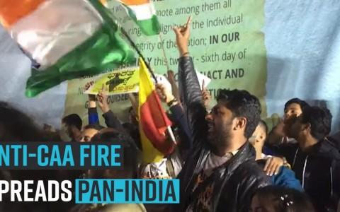 Anti-CAA fire spreads Pan-India