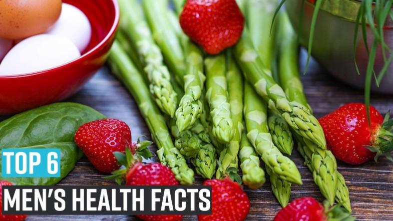 Top 6 mens health facts