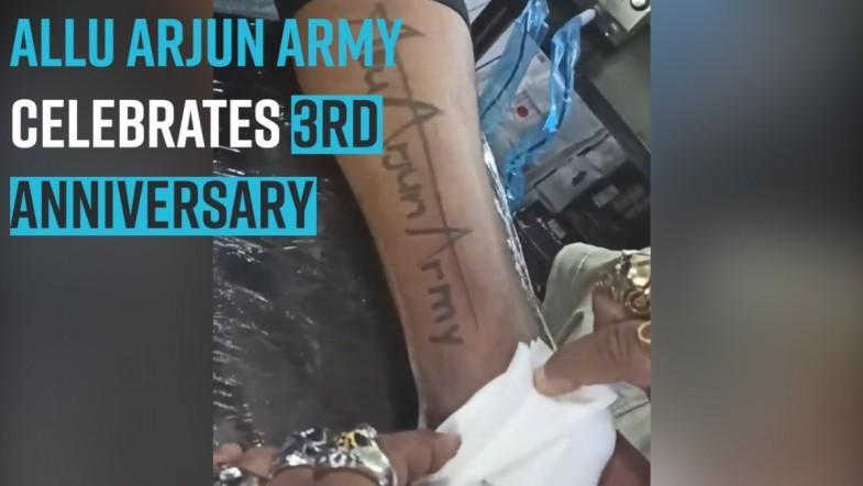 Allu Arjun Army celebrates 3rd anniversary